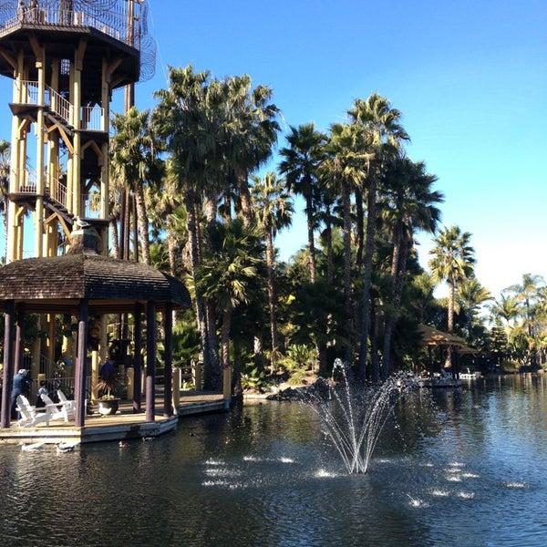 Photo taken at Paradise Point Resort & Spa by erik j. on 1/20/2013