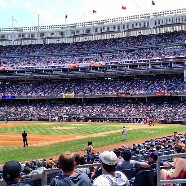 Photo taken at Yankee Stadium by Daniel A. on 7/13/2013