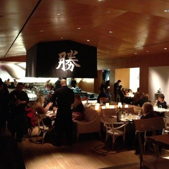 Photo taken at Katsuya Brentwood by Declan D. on 12/15/2012