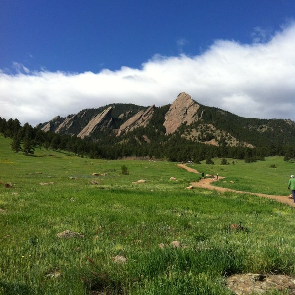 Photo taken at Chautauqua Park by Margie G. on 5/21/2013
