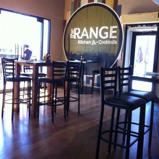 Photo taken at The Range Kitchen & Cocktails by Jamie H. on 10/3/2012