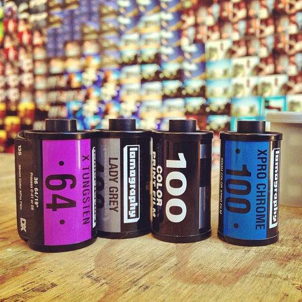 Photo taken at Lomography Gallery Store Austin by Steven S. on 12/17/2012