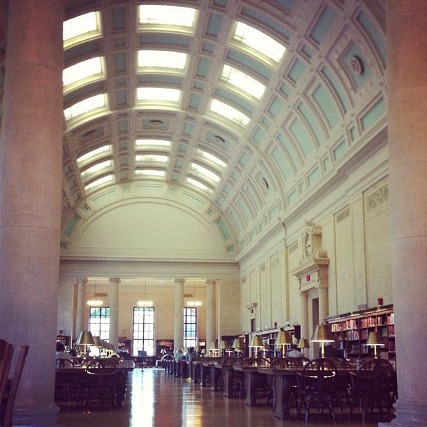 Photo taken at Widener Library by Kevin D. on 8/16/2013