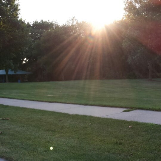 Photo taken at Helder Park by Nick Rilley on 7/19/2013