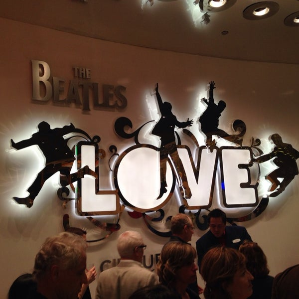 Photo taken at The Beatles LOVE (Cirque Du Soleil) by Fabio C. on 4/1/2014