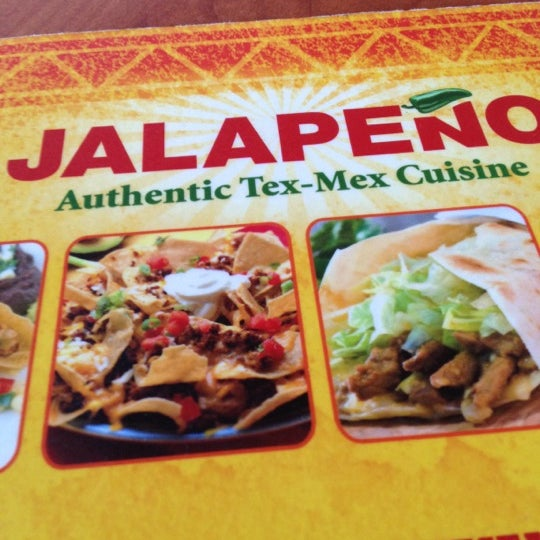 Photo taken at Jalapeño Authentic Tex-Mex Cuisine by Michael Ross E. on 11/2/2012