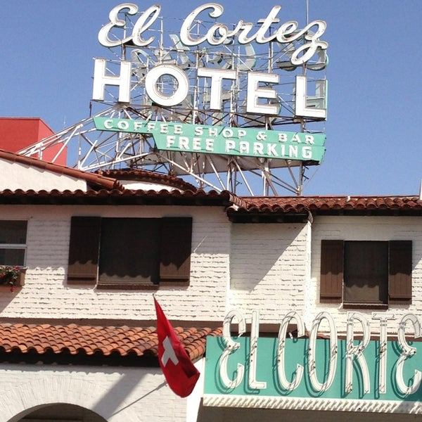 Photo taken at El Cortez Hotel & Casino by Tom B. on 4/7/2013