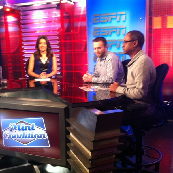 Photo taken at ESPN by Colin B. on 1/29/2014