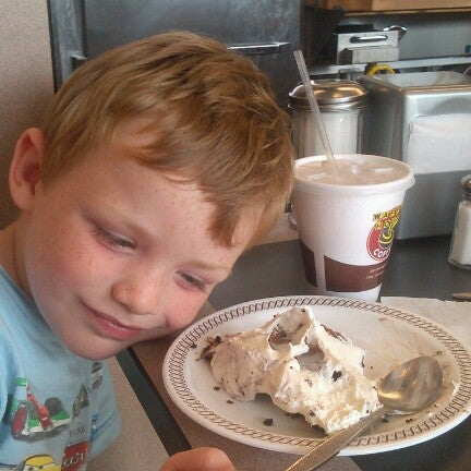 Photo taken at Waffle House by Becky F. on 10/18/2012