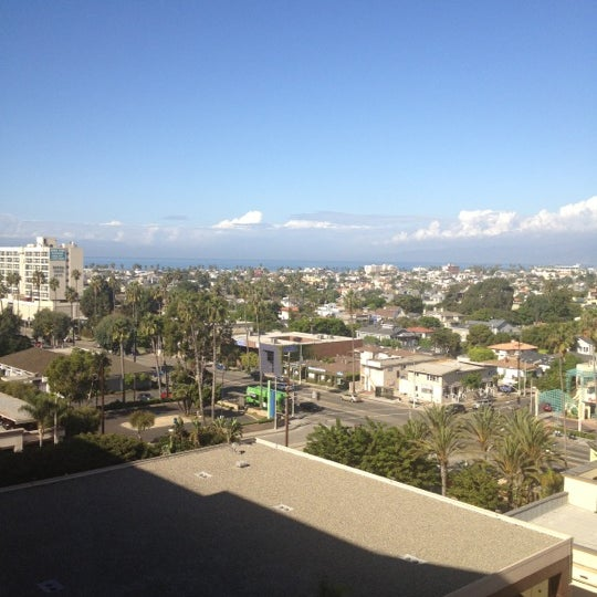 Photo taken at Marina Del Rey Marriott by Chad R. on 10/10/2012