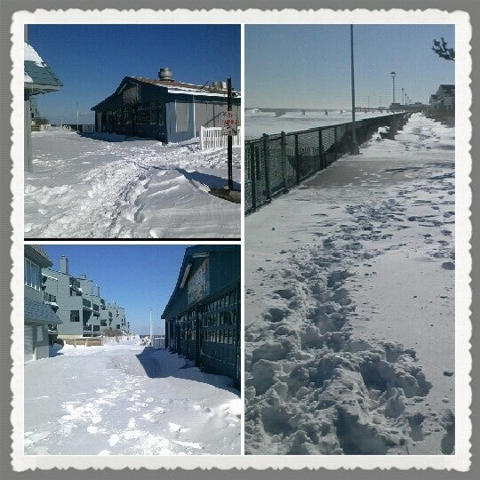 Photo taken at Point Pleasant Beach Boardwalk by Candy L. on 1/3/2014