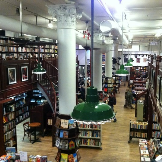 Photo taken at Housing Works Bookstore Cafe by Matt W. on 11/27/2012