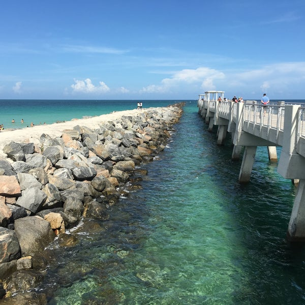 Photo taken at South Pointe Pier by [Princess] on 6/30/2016