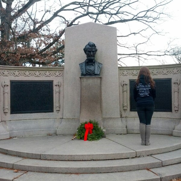 Photo taken at Gettysburg National Cemetery by Marshall M. on 1/1/2014