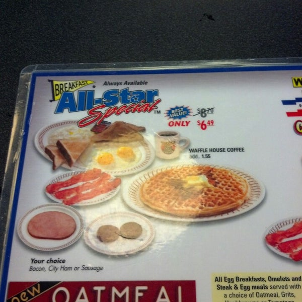 Photo taken at Waffle House by Kara on 3/8/2013