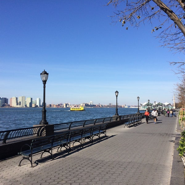 Photo taken at Battery Park City Esplanade by Eugene K. on 11/15/2015