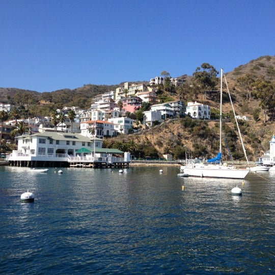 Photo taken at Santa Catalina Island by Dale F. on 11/3/2012