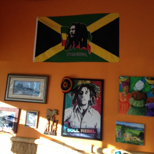 Photo taken at Mama Jamaica's Kitchen by Justin C. on 1/15/2013