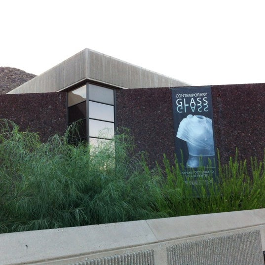 Photo taken at Palm Springs Art Museum by David M. on 9/28/2012