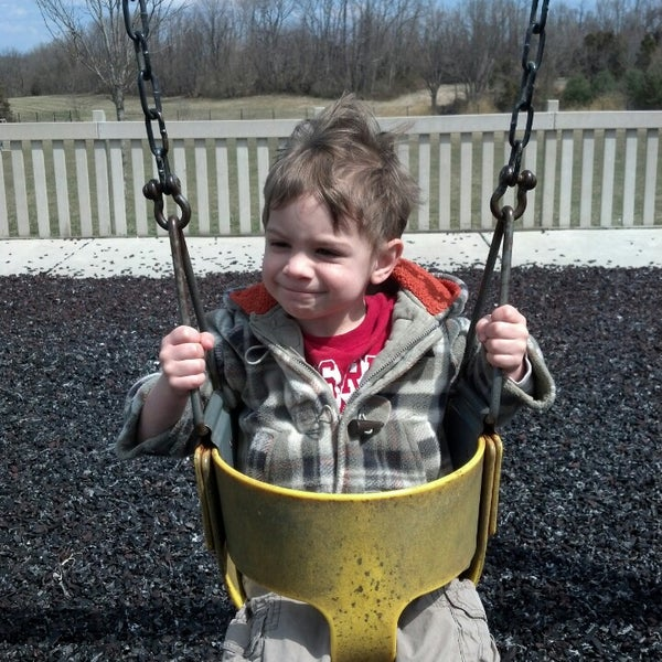 Photo taken at Annie's Playground by Danalee P. on 4/1/2013