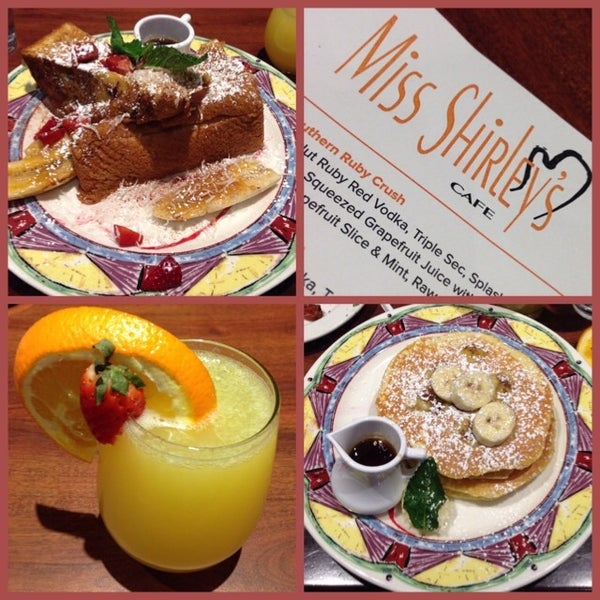 Photo taken at Miss Shirley's Cafe by Macy G. on 1/5/2014