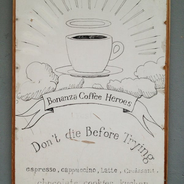 Photo taken at Bonanza Coffee by Sasha K. on 2/16/2013