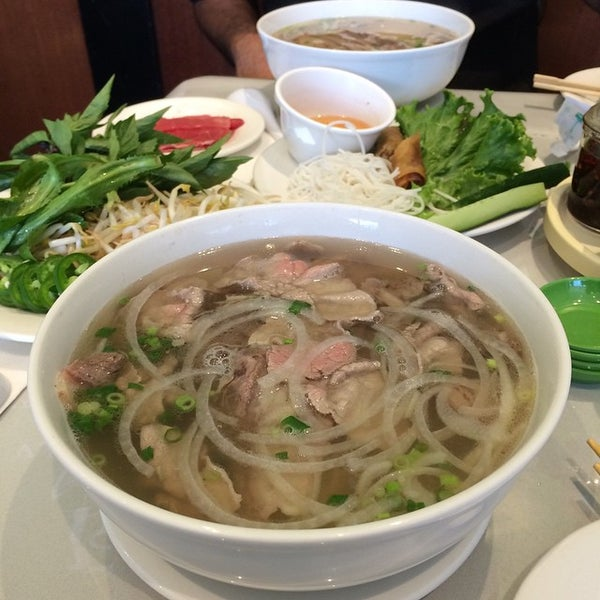 Photo taken at Ha Long Pho Noodle House by Todd T. on 10/16/2014