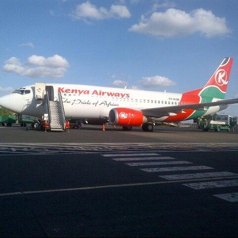 Photo taken at Jomo Kenyatta International Airport (NBO) by Kevin K. on 10/8/2012