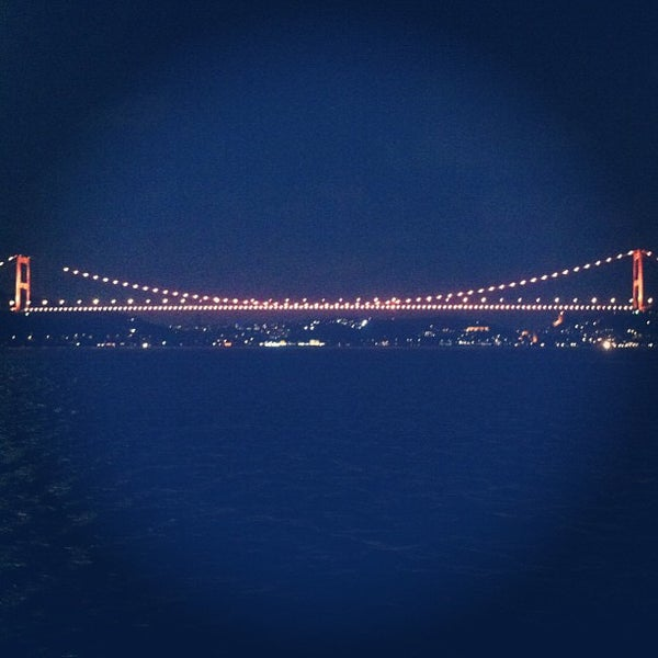 Photo taken at Fatih Sultan Mehmet Bridge by Naim S. on 7/21/2013