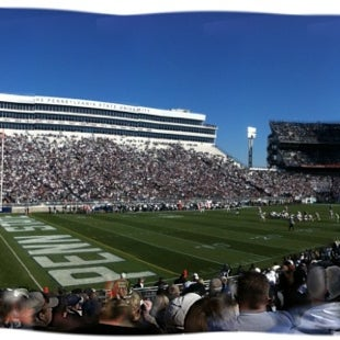 Photo taken at Beaver Stadium by Daviyion J. on 11/17/2012