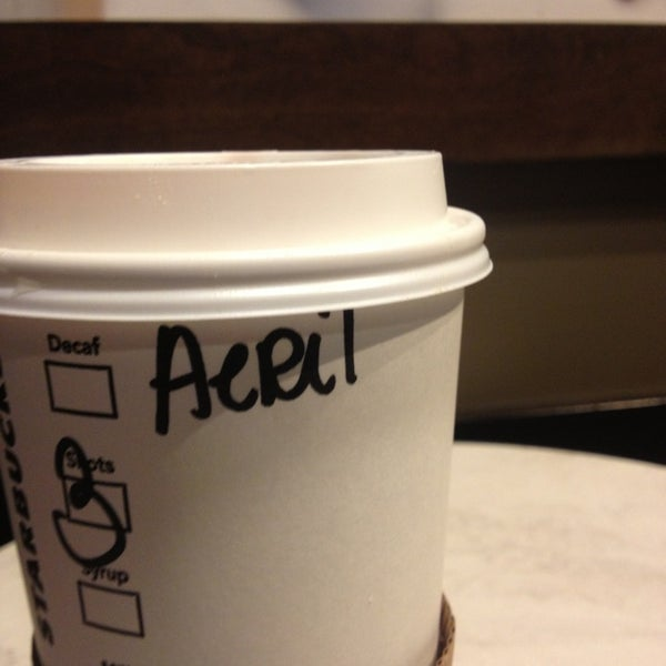 Photo taken at Starbucks by Ariel K. on 8/24/2013