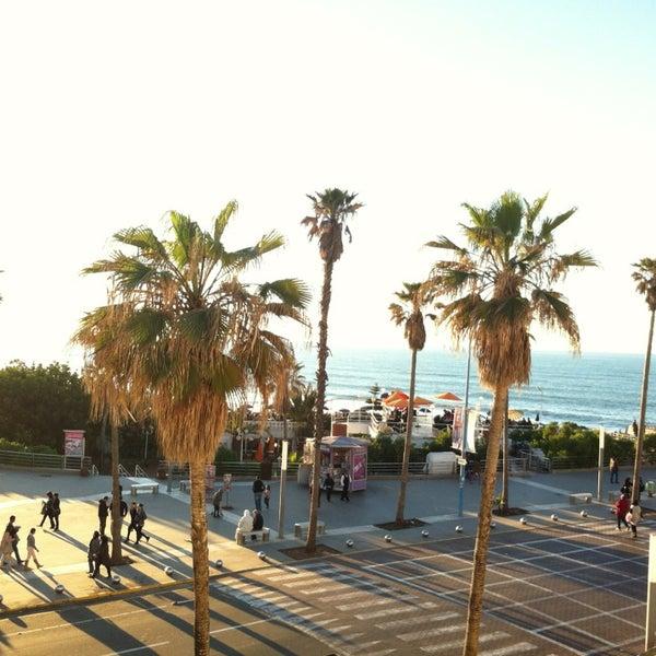 Photo taken at La Corniche de Casablanca by Mohamed amine M. on 2/10/2013
