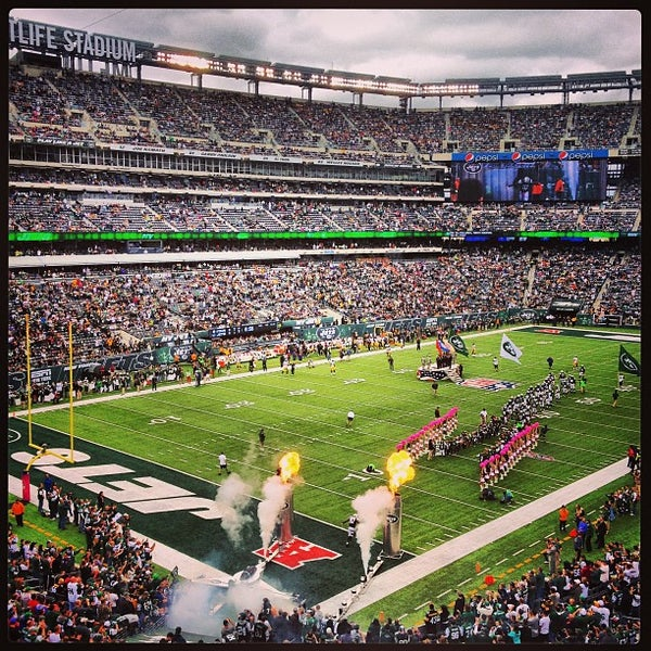 Photo taken at MetLife Stadium by Josh P. on 10/13/2013