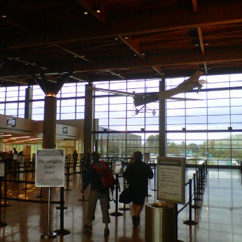 Photo taken at Portland International Jetport (PWM) by Josh M. on 10/19/2011