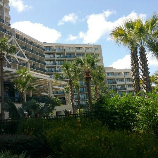 Photo taken at Marriott World Center Pool by Jay N. on 6/15/2015