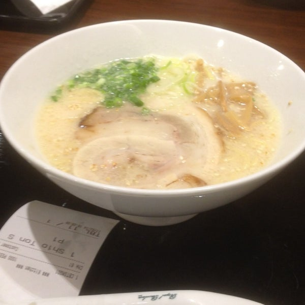 Photo taken at Chabuton Ramen by Chemist L. on 2/17/2014