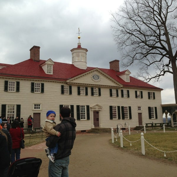 Photo taken at George Washington's Mount Vernon Estate, Museum & Gardens by Claudia S. on 2/16/2013