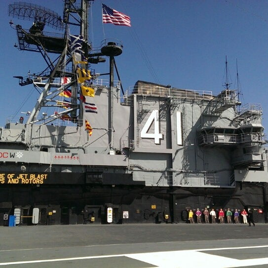 Photo taken at USS Midway Museum by Jonathan S. on 3/15/2014