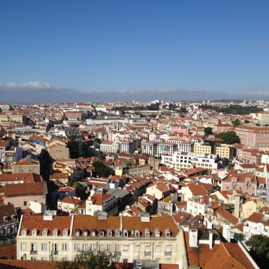 Photo taken at Miradouro da Graça by Cidalia O. on 9/29/2012