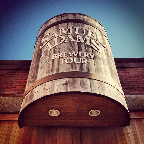 Photo taken at Samuel Adams Brewery by Ryan A. on 11/24/2012