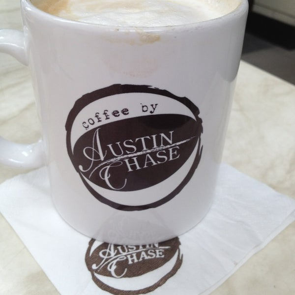 Photo taken at Austin Chase Coffee by Alysha S. on 1/4/2013