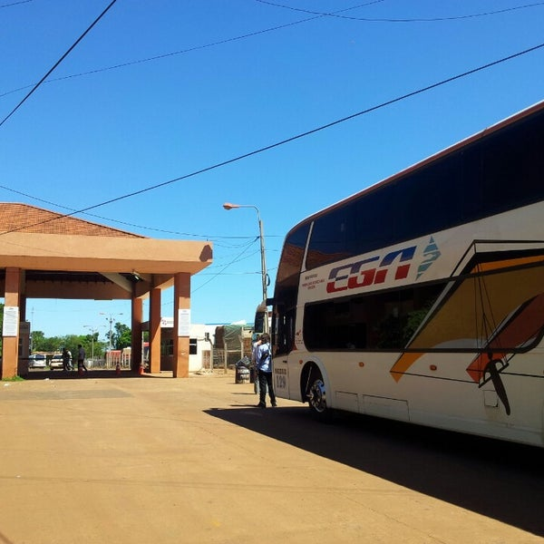 Aduana Encarnación, Paraguay