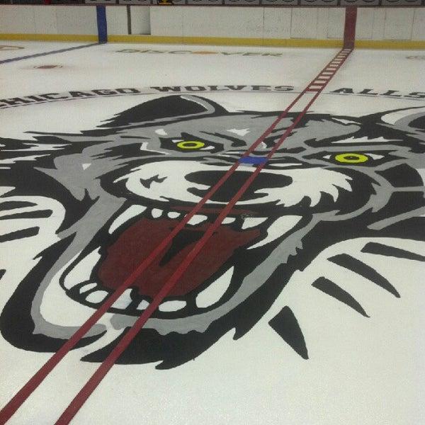 Photo taken at Allstate Arena by John H. on 10/4/2012