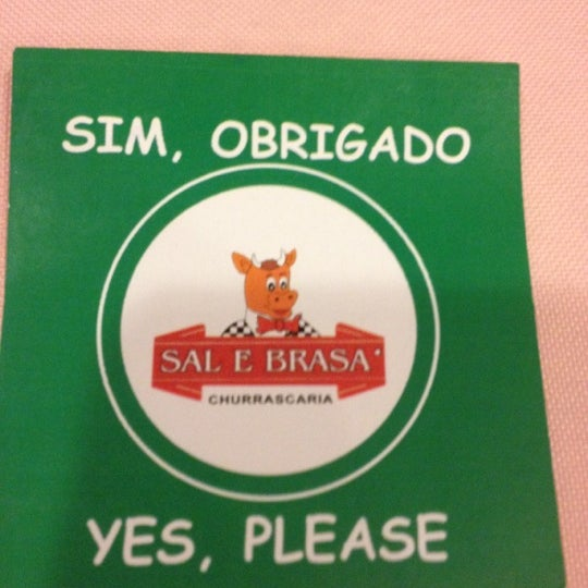 Photo taken at Sal e Brasa Gold by Licurgo R. on 9/17/2012