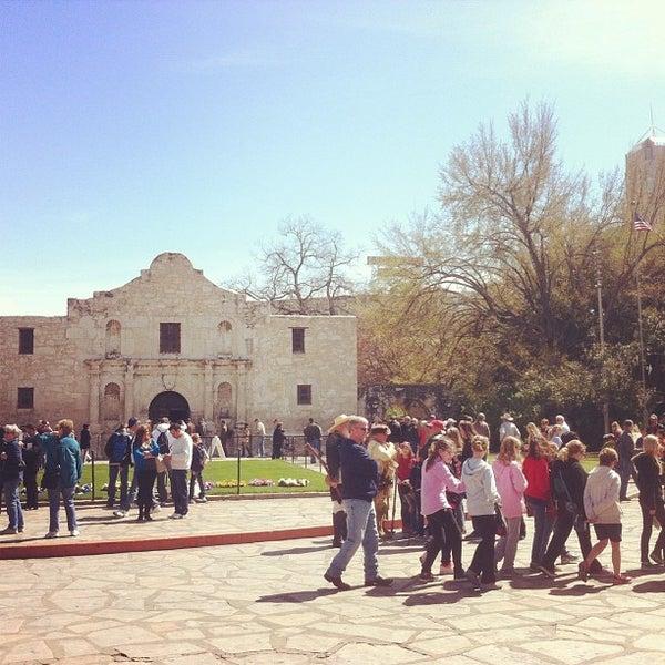 Photo taken at The Alamo by Miriam S. on 3/6/2013