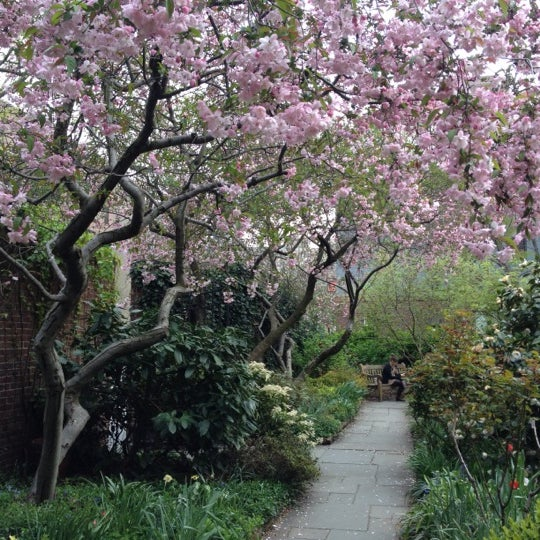Photo taken at The Garden at St. Luke in the Fields by Becca D. on 4/24/2013