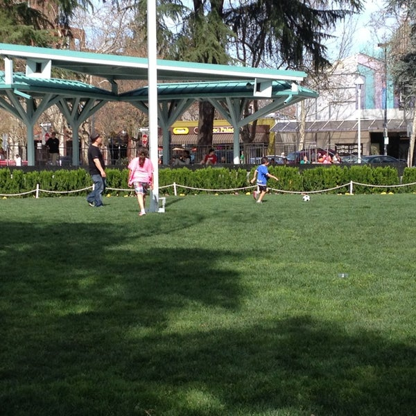 Photo taken at Todos Santos Plaza by Nadine M. on 3/17/2013
