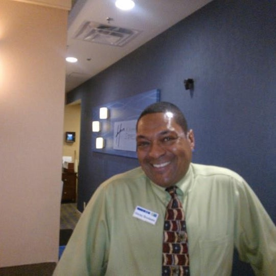 Photo taken at Holiday Inn Express by Stacey B. on 11/4/2012