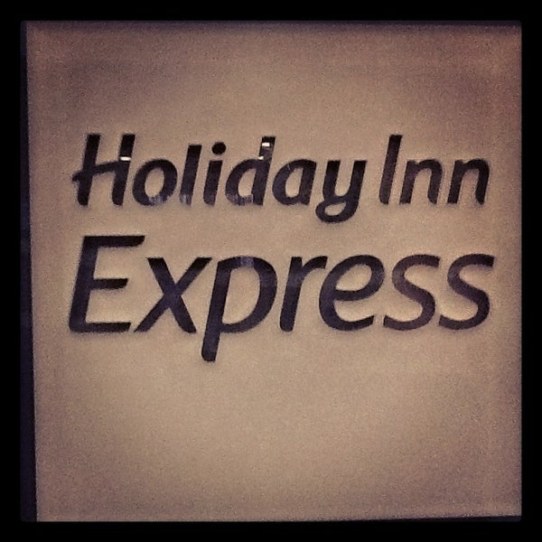 Photo taken at Holiday Inn Express by Stacey B. on 2/12/2013