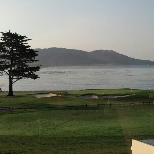 Photo taken at The Lodge at Pebble Beach by Amber P. on 3/22/2013